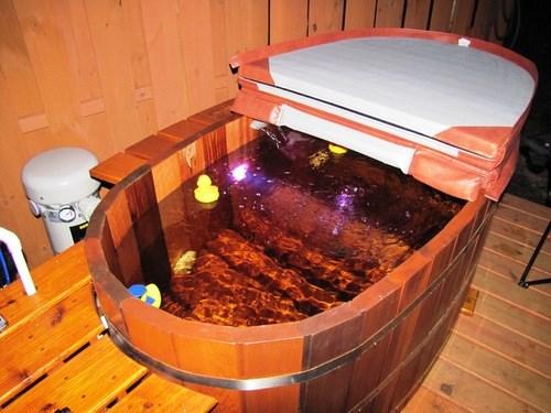 Bồn tắm của người Nhật