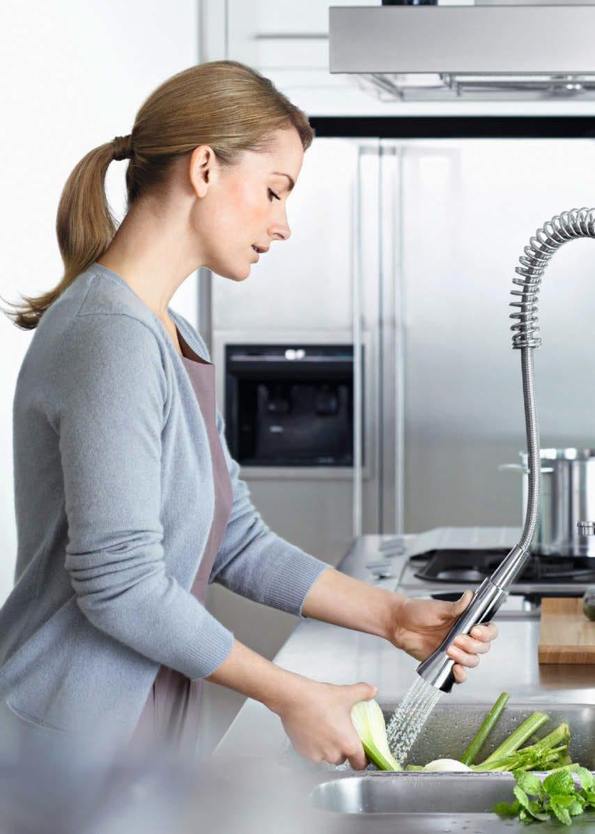 vòi bếp grohe phù hợp với mọi không gian