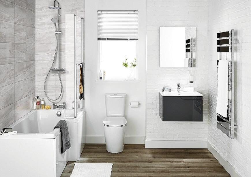 Phù hợp với mọi không gian nhà tắm