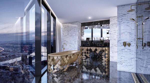 Phòng tắm có bồn